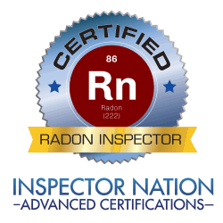 INAC Radon Inspector - licensed home inspector wake forest nc